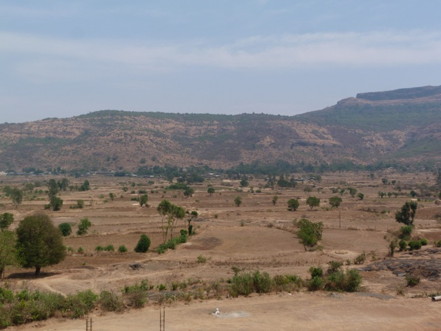 The valley in the dry season